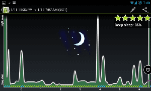 sleep as android, dormire meglio